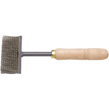 Fin cleaner brush