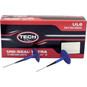 Flat Tire Repair Agent, Uniseal Ultra, Internal and External Repair Material