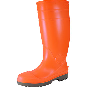Rubber Boots Orange/Yellow