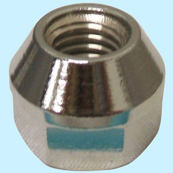Wheel Nut, Penetration Plating Nut 17H M10