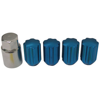 Light Alloy Lock Light Key Bag Nut Type 8 H
