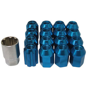 Light-Alloy Wheel Nut, Lock Set Box-Nut Type 4H