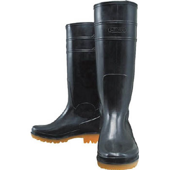 Oil Resistant Boots Long Type Black 28.0
