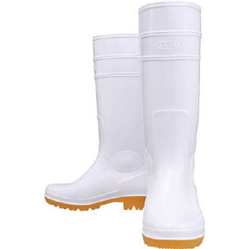 Oil Resistant Boots Long Type White 27.0