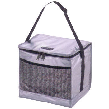 Deris Silver Soft Cooler Bag