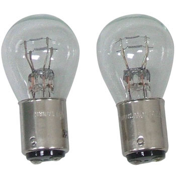 Miniature 2 Packed Lamps,S25/BAY15d 24V