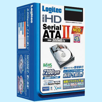 NCQ Support Serial ATA II Built In Hard Disk, 3.5inch