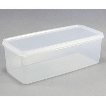 "Square Airtight Container, ""Hi Pack"""