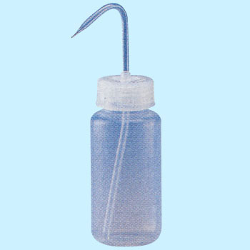 Wide entrance / narrow mouth washing bottle (PFA)