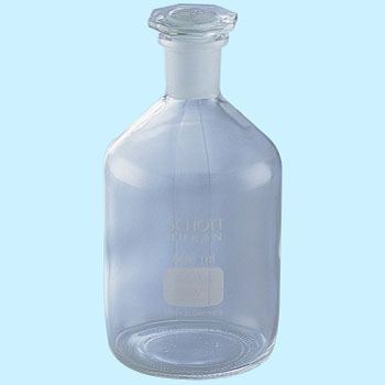 Reagent bottle (with wide mouth and stopper) (DURAN (R))