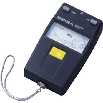 3213A series Analog insulation resistance meter