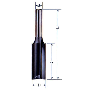Carbide straight bit