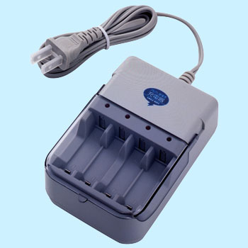 Alkaline dry cell battery charger