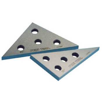 Solid Angle plate 30 degree x 60 degree 45 degree x 45 degree 2 pc set