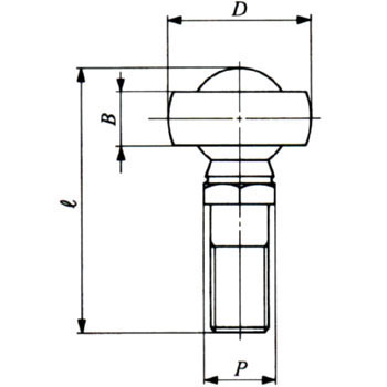 Ell Ball LHS Left Screw