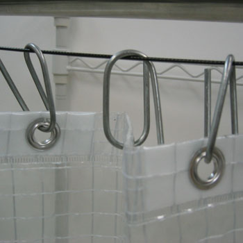 Partition Sheet Hanging Bracket Set