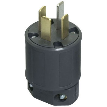 Plug Straight Blade Grounding 3P