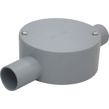 Round Shaped Exposure Switch Box , 2 Way Injection, S