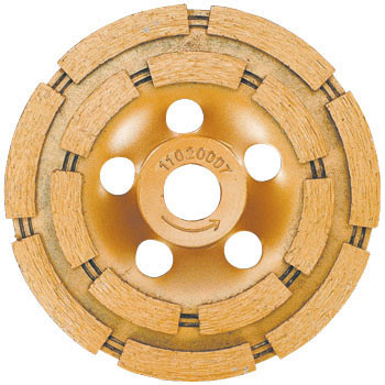 "Diamond Cup Grinding Wheel, ""Dry Double Cup"""