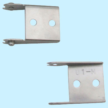 Mounting Bracket for Chain-Rail, A Set for Moving End And Fixed End