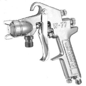 Medium spray gun suction type nozzle bore phi 2.0