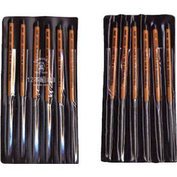 12 pcs ellipse super smooth file
