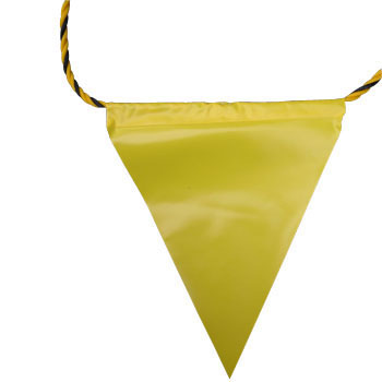 Safety Sign Flag Rope