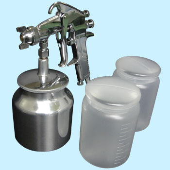 Air Spray Gun, Siphon Type