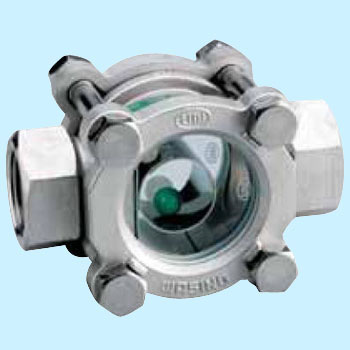 Ball Type Sight Glass, Threaded Fitting, Ductile