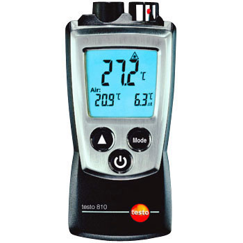Infrared Radiation Thermometer, Gas Thermometer Sensor