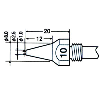 TP-100 Replacement Nozzle
