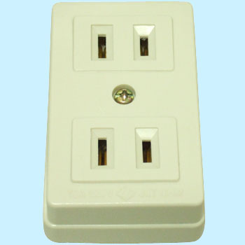 Exposed Double Outlet