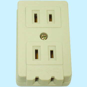 Exposed L Type Triple Outlet