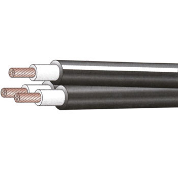 600 V Triplex-Crosslinked Polyethylene Insulation Pvc Sheath Cable 600 V CVT