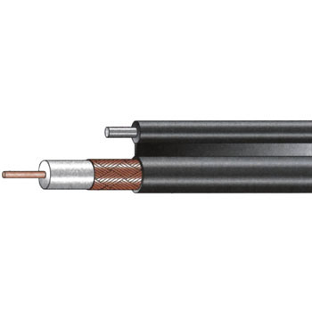 75 Ohm Solid Type Coaxial Cable, Self Support Type