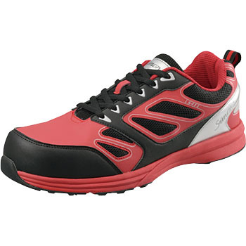 Safety Sneakers Red/Black