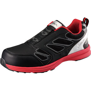 Safety Sneakers Ls417 Black / Red