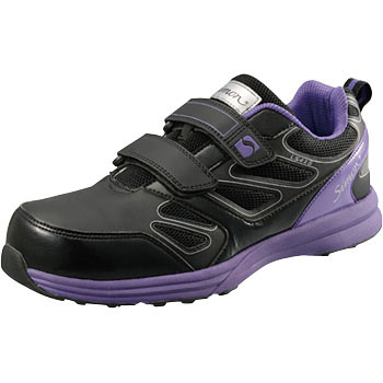 Protective Safety Sneakers LS418 Black / Violet