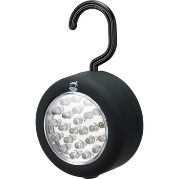 24 LED Round Type Light (With Hook And Magnet)