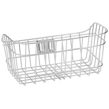 Wide Stainless Steel Basket