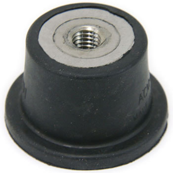 Standing vibration-proof rubber (no bolt)