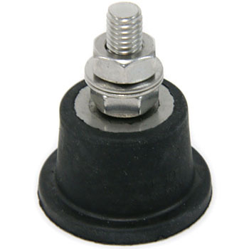 Standing vibration-proof rubber (bolt)