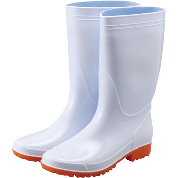 Oil Resistant White Boots