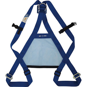Full harness safety belt mesh harness