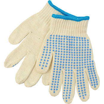 Children work gloves pure cotton slip