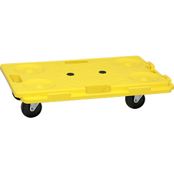 Connecting Cart Tsunagetaro (Resin Flat Cart, Nylon Cart, Stacking Storage Type)