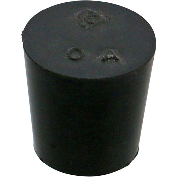 Fluoro rubber minimum plug