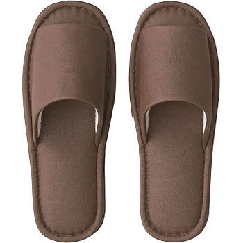 Fabric Style Plastic Slippers