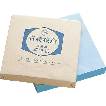Medicinal packaging paper (blue special cast)