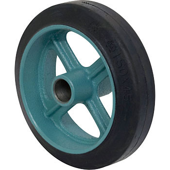 Ductile Core Metal Rubber Wound Wheel A (No Bearings)